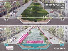 Copenhagen_Cloudburst-Masterplan-Atelier-Dreiseitl-10 « Landscape Architecture Works | Landezine #LandscapeMasterplan