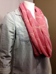 Pink Spring Infinity Scarf-Spring Fashion on Etsy, $15.00 CAD