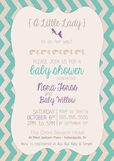 Vintage Aqua Mermaid Baby Shower Invitation {Digital File} on Etsy, $15.00