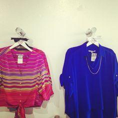 Amanda Uprichard blouses available at KB