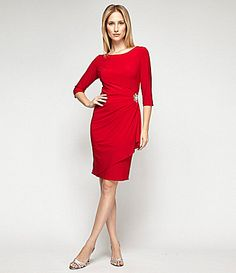 Collection Red Dresses At Dillards Pictures - Reikian