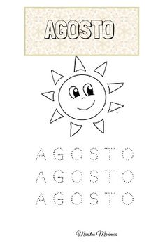 MAESTRA MARINICA: PREGRAFISMO: I MESI DELL'ANNO Infant Activities, Activities For Kids, Home Schooling, Diagram, Christian, Alphabet, Weather, Teachers, Autism