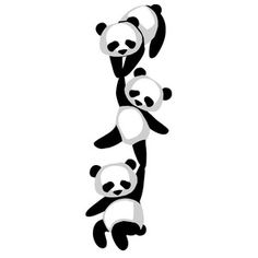 I think I'm in love with this design from the Silhouette Design Store! Creative Wall Painting, Wall Painting Decor, Indian Art Paintings, Animal Paintings, Cute Panda Cartoon, Mandala Sketch, Panda Craft, Panda Drawing, Fabric Paint Designs