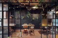 Greenhouse - perfect place for meetings and family dinners in Restaurant POBITEGARY - Gdansk Wrzeszcz.