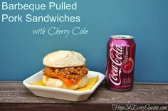Hope In Every Season: Barbeque Pulled Pork Sandwiches with Cherry Coke #FinalFourPack #Ad #cbias