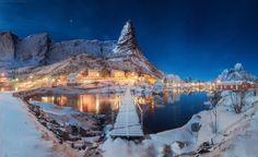 Reine village, Lofoten. Nothern Matterhorn by Daniel Korzhonov   Earth Shots