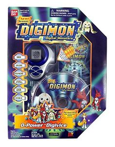 Bandai Digimon D-Power Digivice Season 3 Digital Monsters Game Toy Original