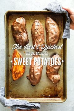 Perfectly soft, caramelized sweet potatoes in under 40 minutes. Prep these sweet potatoes in advance for a quick and easy real food option throughout the week.