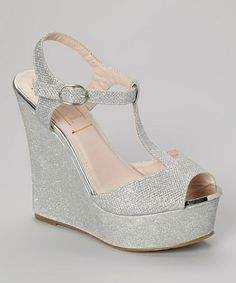 Another great find on Silver Tango Wedge Sandal Cheap Shopping, Pedicures, Tango, Ol, Wedge Sandals, Peep Toe, Footwear, Wedges, Heels