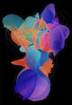 Generative Artworks by Nick Taylor | Inspiration Grid | Design Inspiration