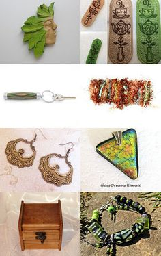 green man love tea  by Ali B on Etsy--Pinned with TreasuryPin.com