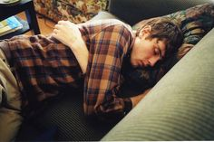 """""""Um, has there always been a sleeping boy on my couch?"""" """"Well, today there is."""""""