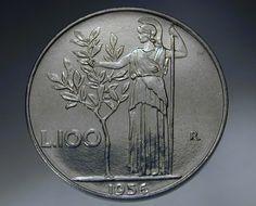 100 lire 1956 moneta rara