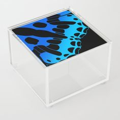 Butterfly Wing - Turquoise Acrylic Box by laec Good Advice For Life, Life Advice, Storage Places, Acrylic Box, Butterfly Wings, Little Things, Spices, Boxes, Kids Rugs