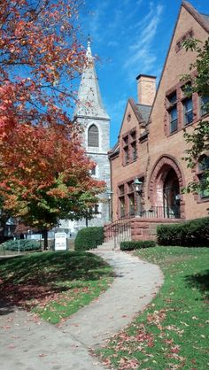 My most favorite place in the world for the first 10 years of my life, the library - New Milford, CT