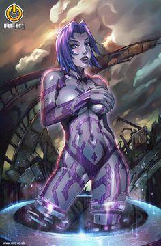 Halo's Cortana by Reinaldo Quintero