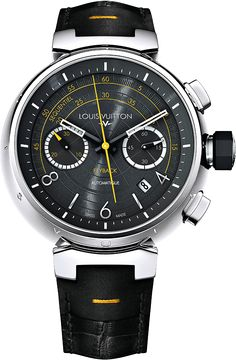Louis Vuitton Tambour Automatic Chronograph Flyback | Perpetuelle.com Watch Blog
