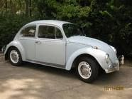hubby's car before he painted it 67 bug