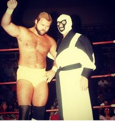 Mr. Wrestling 2 and Arn Anderson