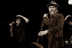 Howe Gelb en Carice van Houten. Februari 2013. Door Bas Jongeleen.