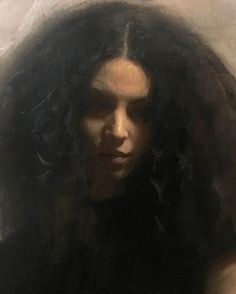 Nick Alm (Swedish, b. oil on canvas, 2017 figurative art Portrait Images, Female Portrait, Portrait Art, Woman Portrait, Yennefer Of Vengerberg, Woman Drawing, Contemporary Paintings, Contemporary Wallpaper, Contemporary Chandelier