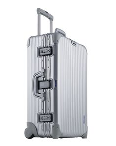 Rimowa Luggage  It's stainless steel, it's German, it's tough, and it's cool.