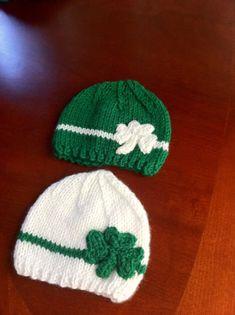 3 to 24 months shamrock baby hat   st patricks by LoreNovedades Crochet  Preemie Hats c1c9e47e9ff0