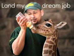 Be a zookeeper! Check!! I worked at a wonderful zoo the summer of '13 :) Ultimate life goal achieved.