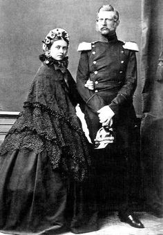 Emperor and Empress Friedrich III of Germany