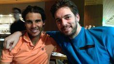 Rafael Nadal vota por Pau Gasol para el All-Star de la NBA