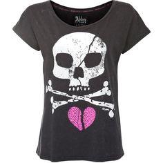 Abbey Dawn Skull t-shirt