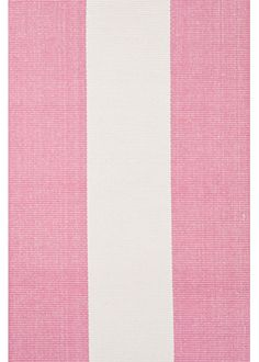 #LGRoselynNursery - Dash & Albert Yacht Stripe Pink Woven Cotten Rug