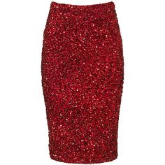 Rental Parker Burgundy Cascade Skirt ($65) ❤ liked on Polyvore featuring skirts, dresses, red, fitted skirts, red skirt, parker skirt, burgundy skirt and red sequin skirt