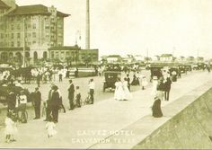 Galvez Hotel: Reproduction of Vintage Postcard. by snap713, via Flickr
