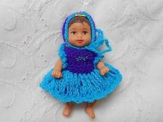 Dress-amp-Bonnet-Set-in-Blue-fits-3-034-KRISSY-Baby-Doll-04
