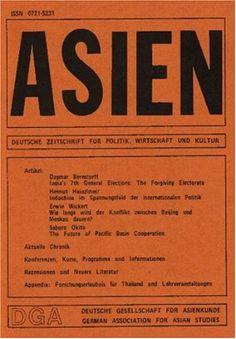 Asien : Deutsche Zeitschrift Fuer Politik Wirtschaft Und Kul  http://www.allmagazinestore.com/asien-deutsche-zeitschrift-fuer-politik-wirtschaft-und-kul/