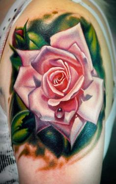#tattoo by Nikko Hurtado..the rose would need to be yellow