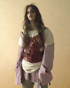 Dazed winter style by Lotta Volkova Quirky Fashion, Look Fashion, Runway Fashion, Fashion Art, High Fashion, Womens Fashion, Fashion Design, Portfolio, Sport