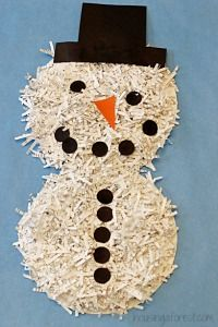 7 adorable snowman crafts that are creative, cute and are a completely cool way to spend a winter day.