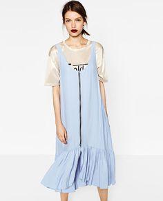 Image 3 of LONG ZIPPED DRESS from Zara
