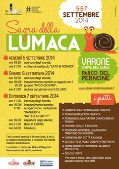 Riva del Garda dal 5 al 7 Settembre Sagra della Lumaca @gardaconcierge