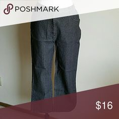 """Grey colored jeans Elastic waist band near back hips 