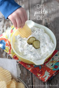 Dill Pickle Dip | Cr