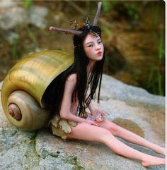 Snail pixie ! :) cute!