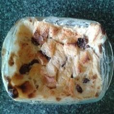Bread-and-butter Pudding is a traditional British pudding, quick and easy to make, and very cheap, as the main ingredient is stale bread which you might otherwise throw away - surprisingly delicious