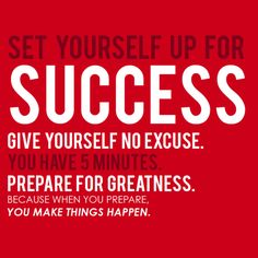 Make things happen...ask me about my new bb challenge group!! set yourself up for success:) www.facebook.com/coachsummerglen