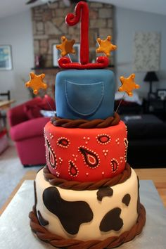 Birthday Party Ideas Cowboy party Cowboys and Cake