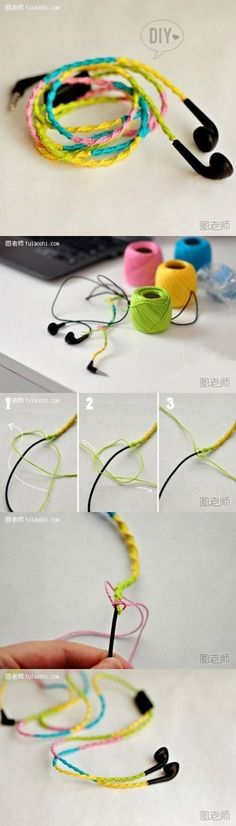 How to make your own unique colorful ear plug decoration step by step DIY instructions / How To Instructions