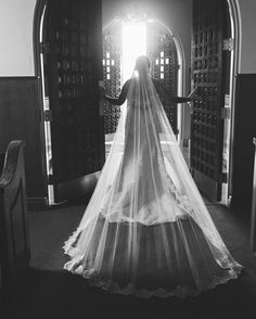 One of my favorite pictures from my Bridal Session! I had always dreamed as a little girl walking through the church doors in my wedding dress and that day my photographers helped me capture that memory!