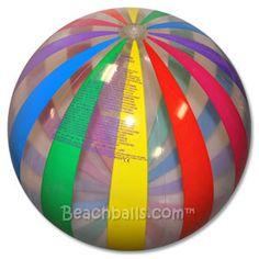 :::: ✿⊱╮☼ ☾  PINTEREST.COM christiancross ☀❤•♥•*  Rainbow Beach Balls